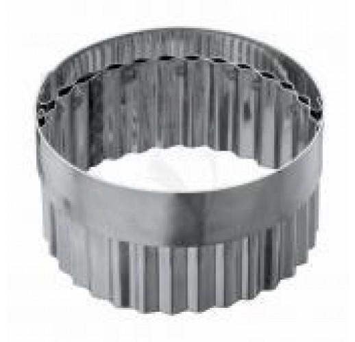 Набор высечек с ручками круг ровный, кольцо 5 штук