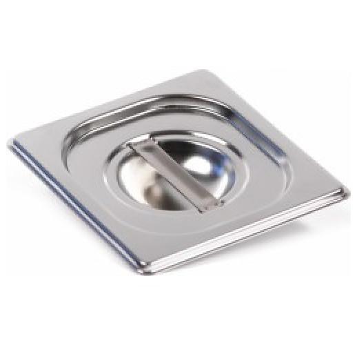 Крышка для гастроемкости GASTRORAG C16 GN 1/6 (176х162) нерж. сталь