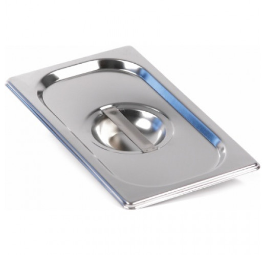 Крышка для гастроемкости GASTRORAG C14 GN 1/4 (265x162) нерж. сталь